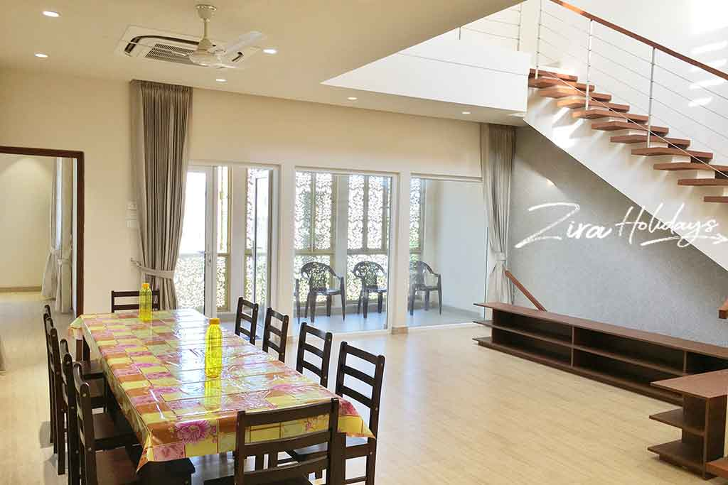 beach villa for family stays in ecr