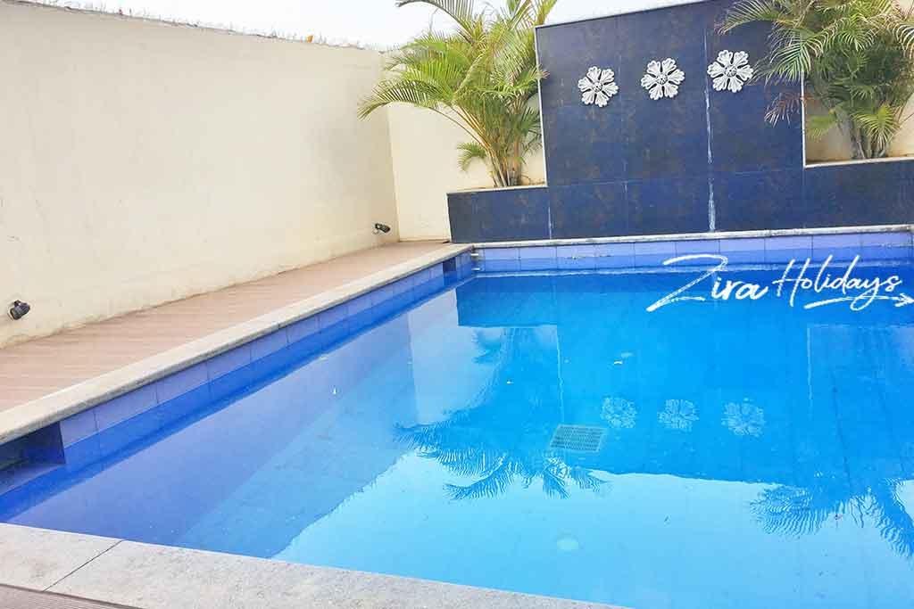 private beach villa in ecr
