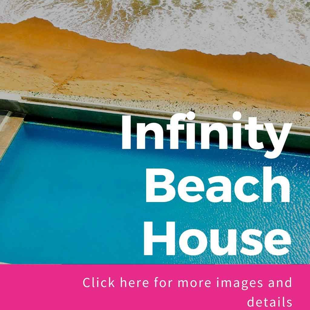 infinity beach house for rent in ecr