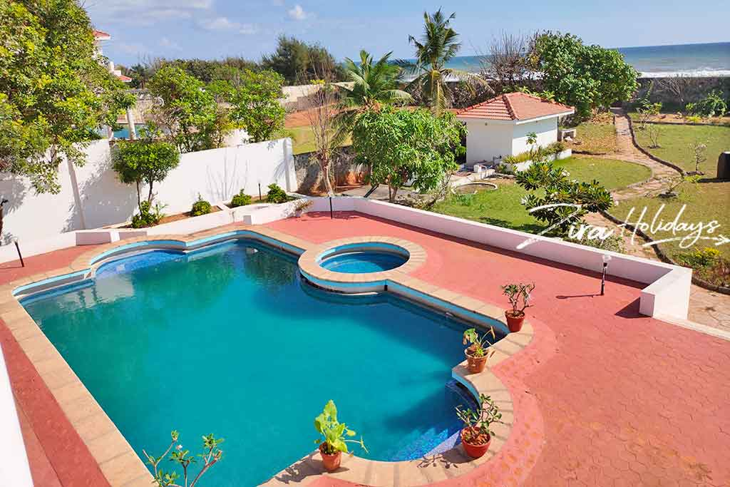 vijaya garden beach house in ecr for team outing