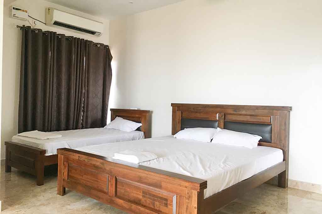 private beach villa ecr