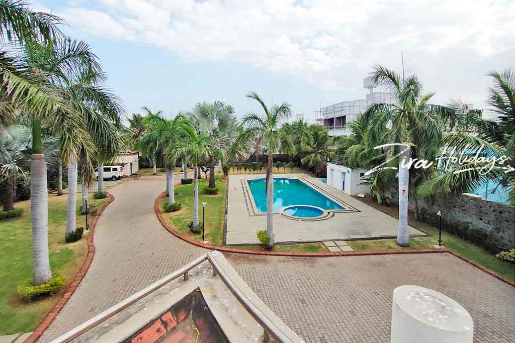 sakthi beach house ecr swimming pool