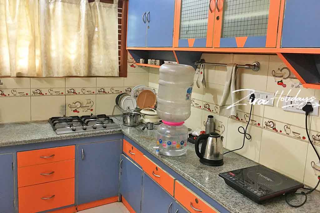 cottages with kitchen facility in yelagiri