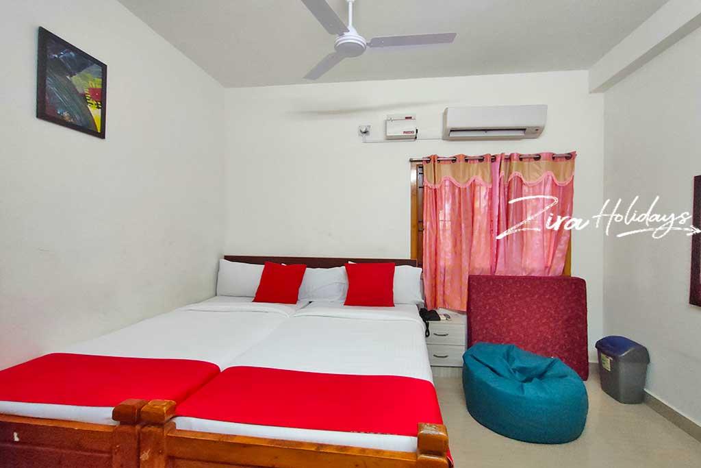 budget beach house for couples in mahabalipuram