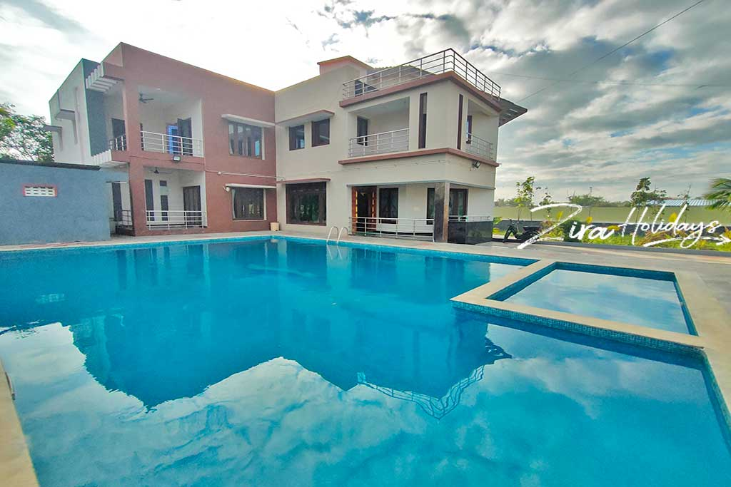 oceanic bay villa 3bhk for one day rent in ecr
