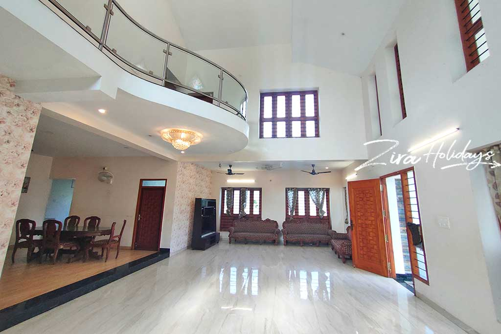 private hill villa for rent in ooty