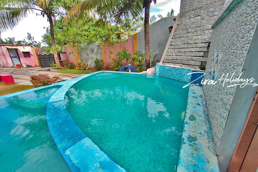 individual beach house for rent in kalpakkam