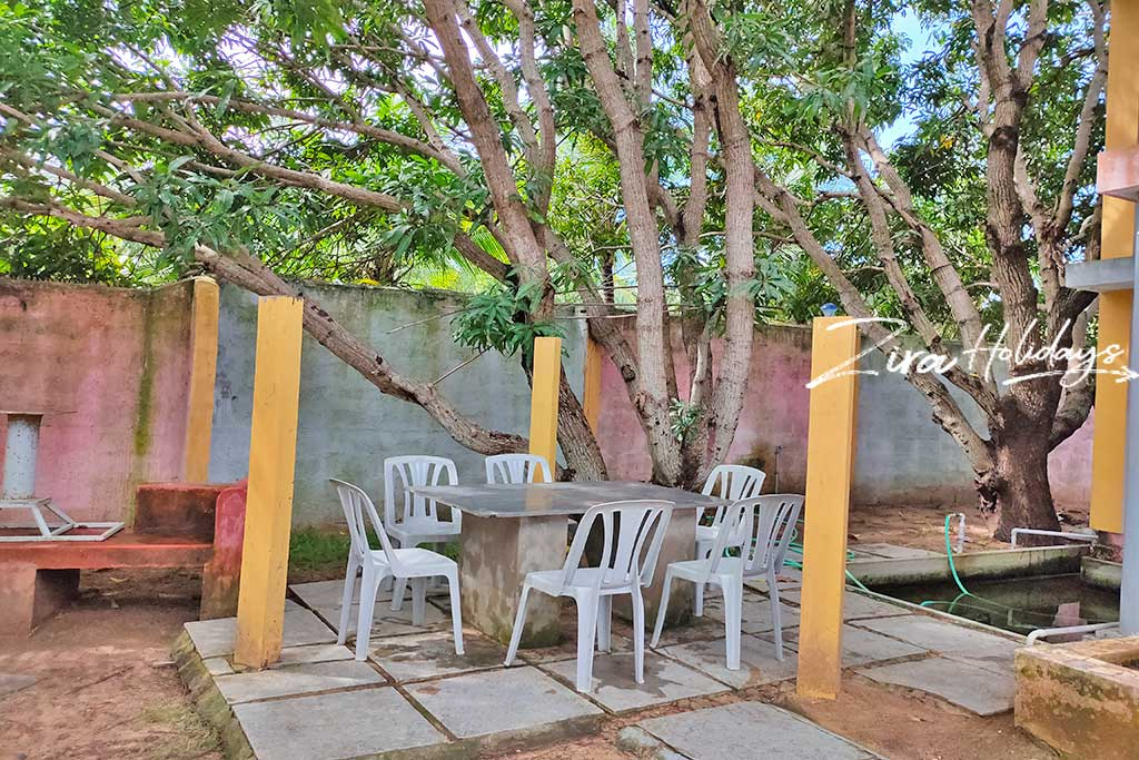 individual beach house for rent in kanathur
