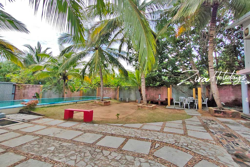 individual beach house for rent in kovalam