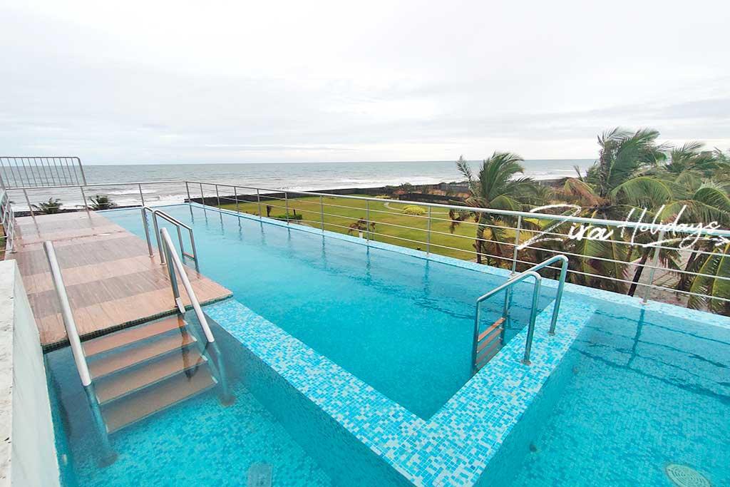 ecr beach villa with swimming pool