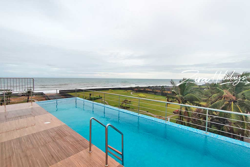 ezeestays beach villa swimming pool