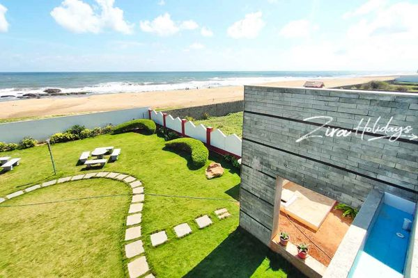 little island beach house for birthday party in ecr